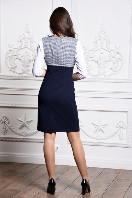 Платье мод. 3735 цвет Синий