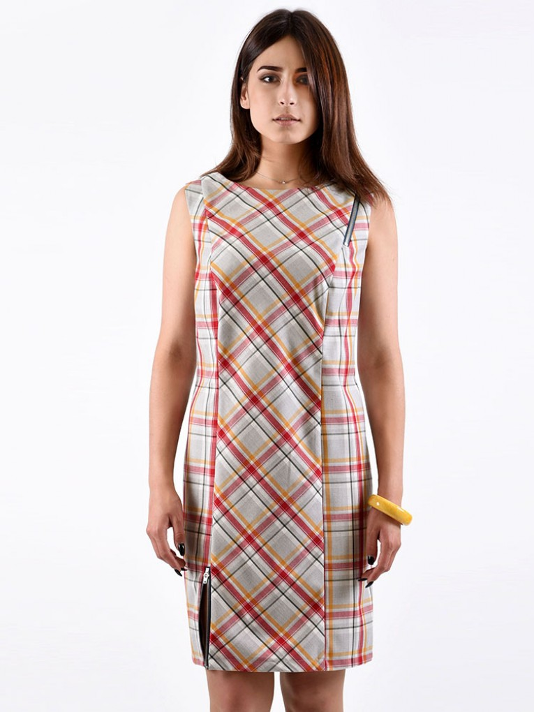 Платье мод. 3736 цвет Красный
