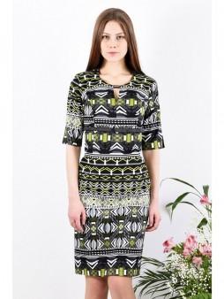 Платье мод. 3746 цвет Чёрный