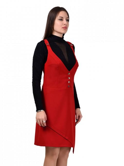 Сарафан мод. 3747 цвет Красный