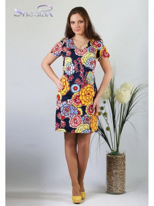 Платье мод. 3755 цвет Желтый