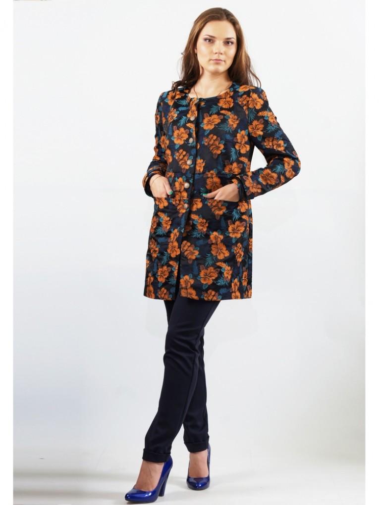 Жакет мод. 3811 цвет Оранжевый