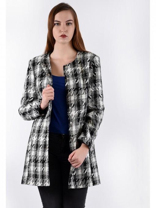 Пальто мод. 3817 цвет Черный