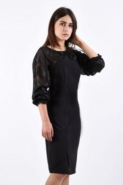 Платье мод. 445 цвет Чёрный