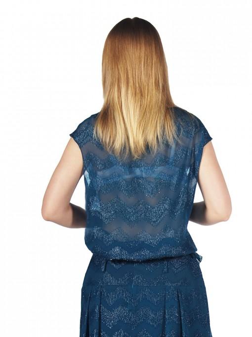 Блуза мод. 4501 цвет Бирюза