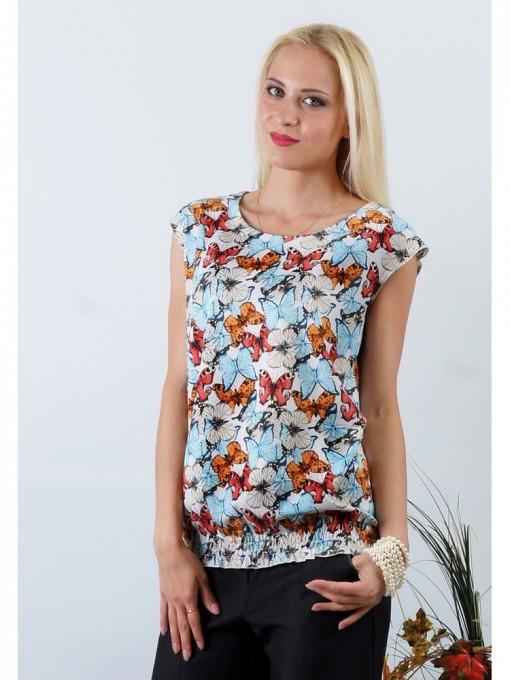 Блуза мод. 4501 цвет Молочный