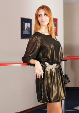 Платье мод. 4503 цвет Чёрный