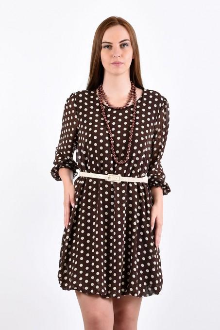 Платье мод. 4503 цвет Шоколадный