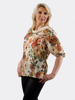 Блуза мод. 4504-1 цвет Молоко