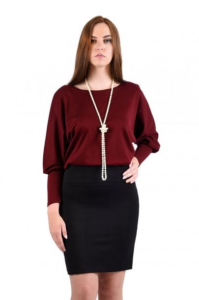 интернет магазин женской одежды,Юбка мод. 5301 Чёрный цвет,женская одежда оптом и в розницу