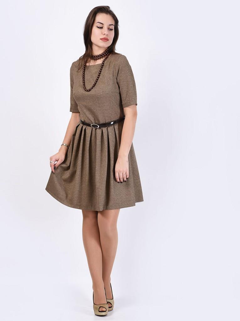 Платье мод. 5404 цвет Шоколад