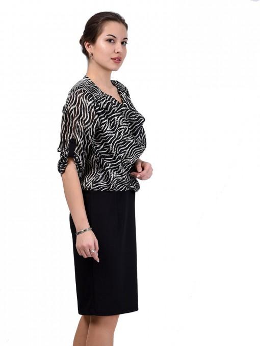 Платье мод. 6401-1 цвет Черный