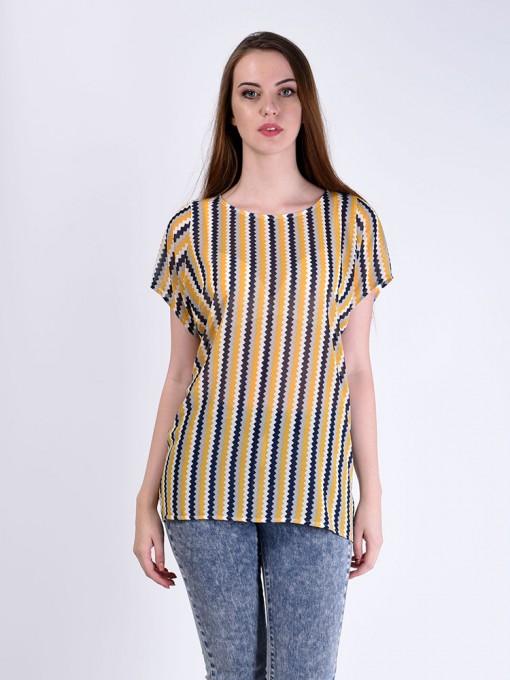 Блуза мод. 6402-1 цвет Горчичный
