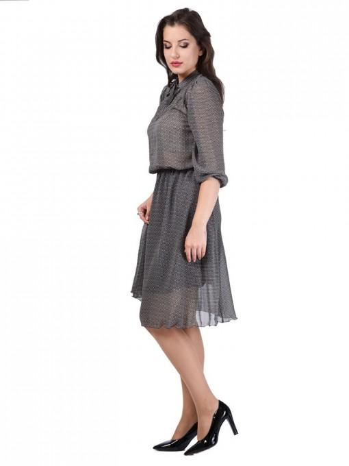 Платье мод. 6404 цвет Кофе