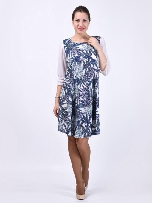 Платье мод. 6405-1 цвет Хаки