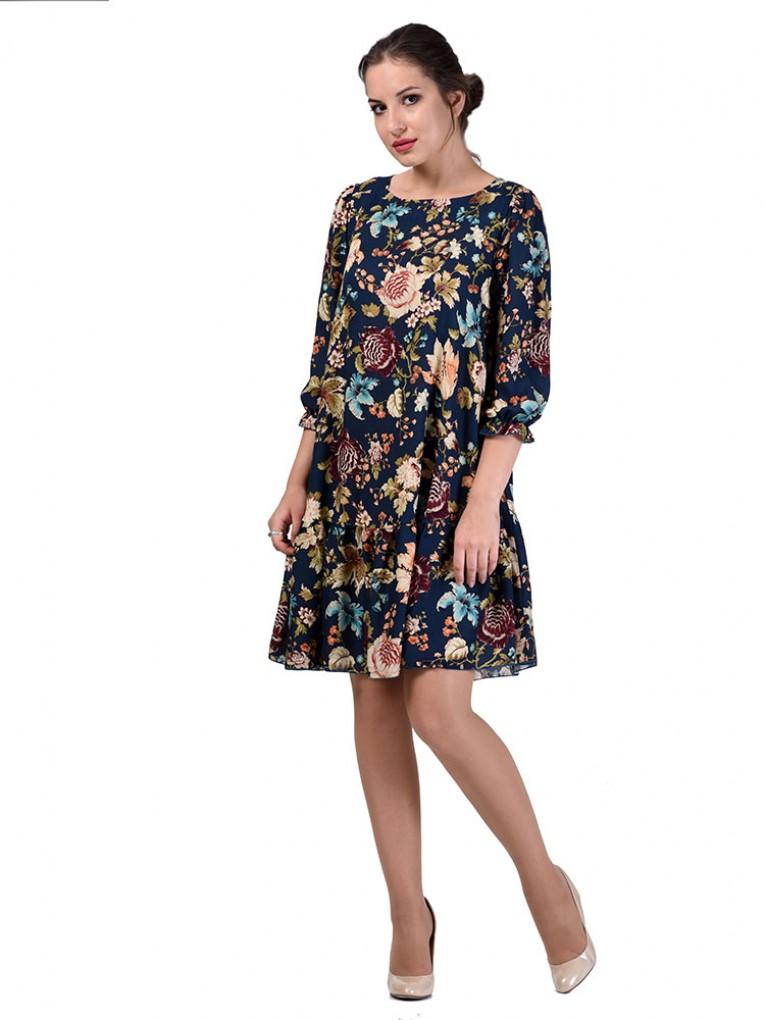 Платье мод. 6405 цвет Бирюза