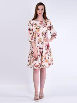Платье мод. 6405 цвет Молоко