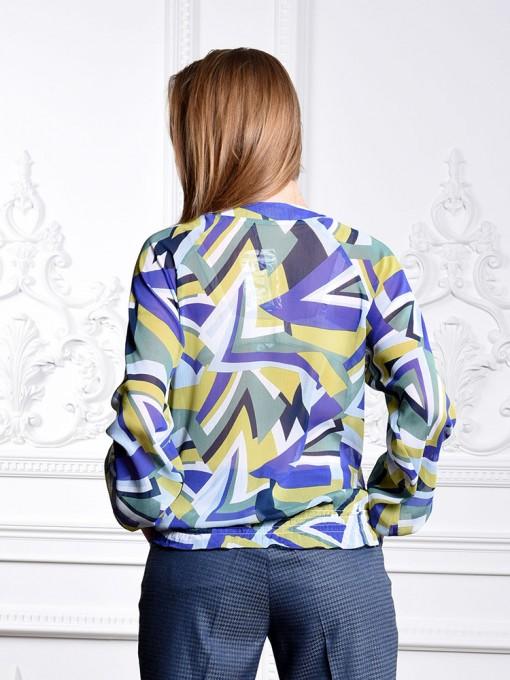 Блуза мод. 6501-1 цвет Зеленый