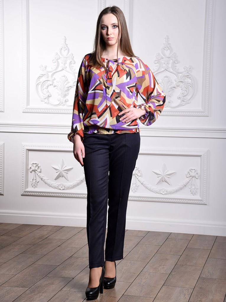 Блуза мод. 6501-1 цвет Терракотовый