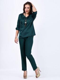 Блуза мод. 6508 цвет Изумрудный