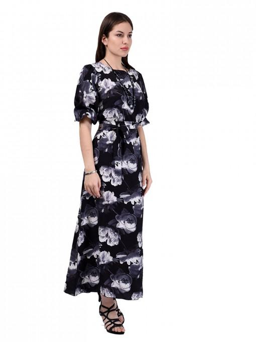 Платье мод. 6510-2 цвет Черный