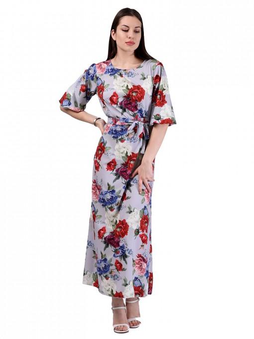 Платье мод. 6510-2 цвет Серый