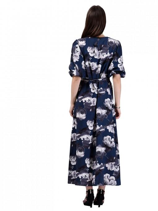 Платье мод. 6510-2 цвет Синий