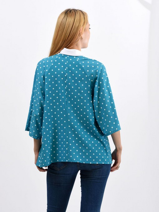 Блуза мод. 6514 цвет Бирюза
