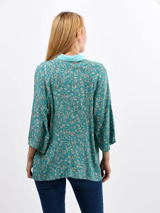 Блуза мод. 6514 цвет Мятный