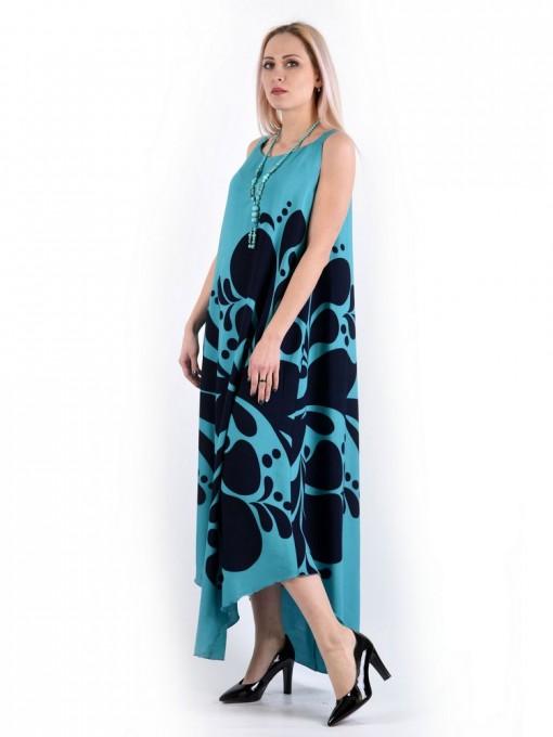 Сарафан мод. 6704 цвет Бирюзовый