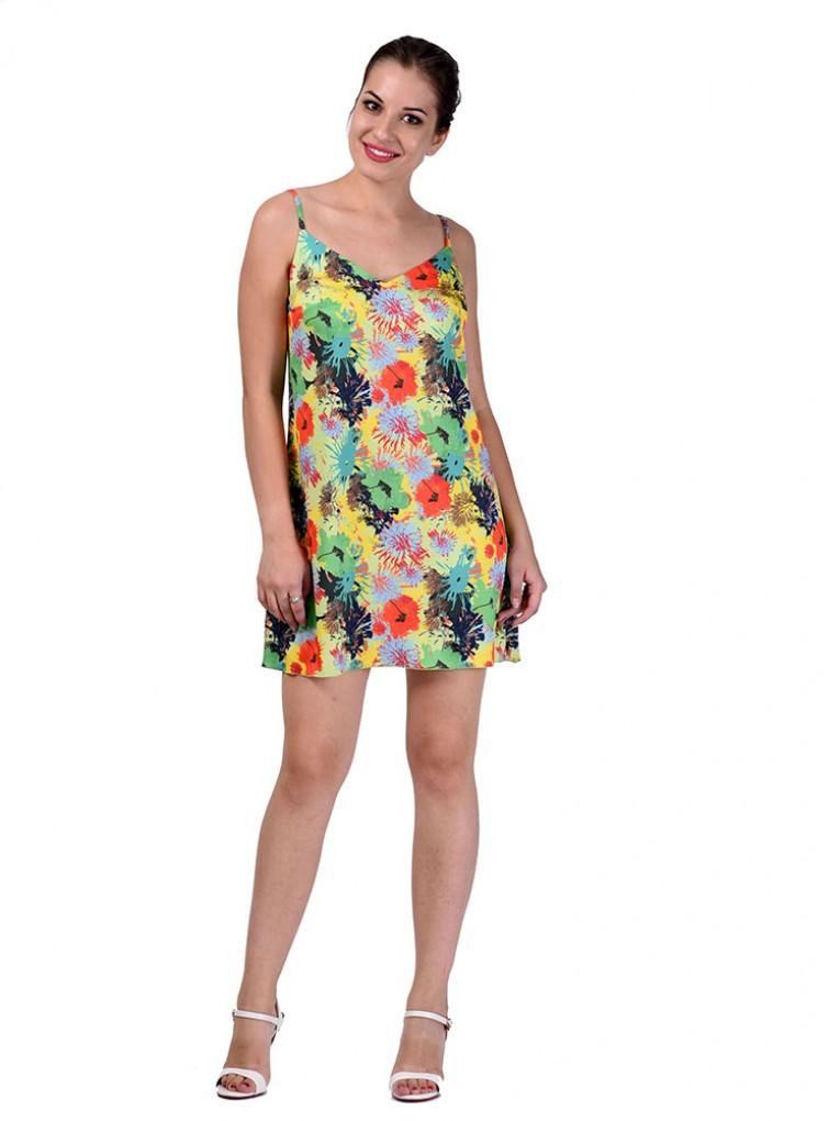 Сарафан мод. 6707 цвет Зеленый
