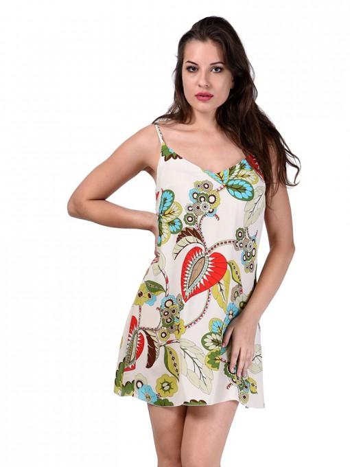 Сарафан мод. 6707 цвет Молочный